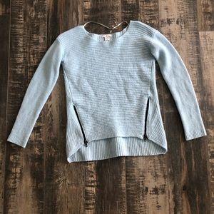 BAR III baby blue sweater